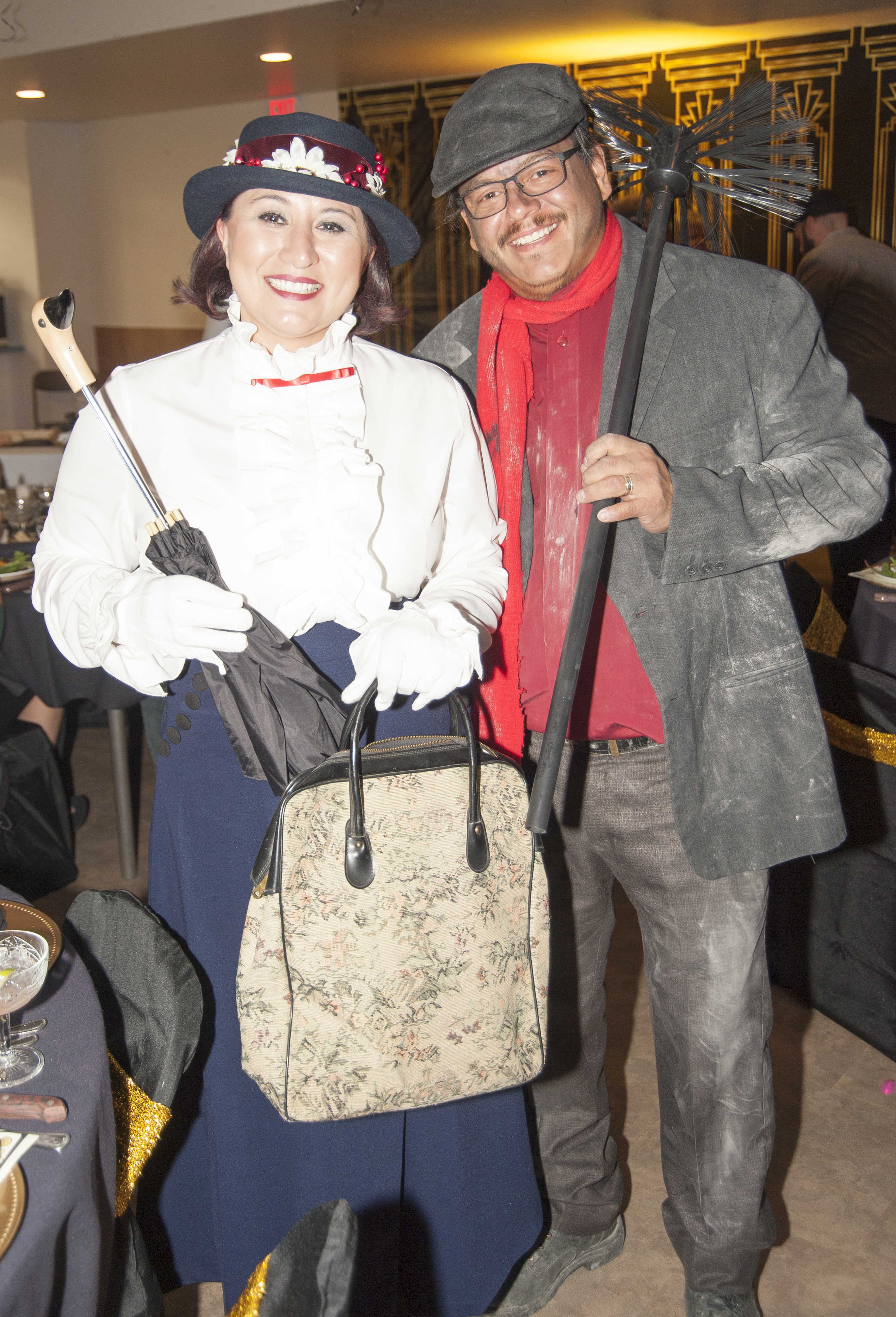 "Suzanne And Nathan Masias At The ""Roaring 20s."""