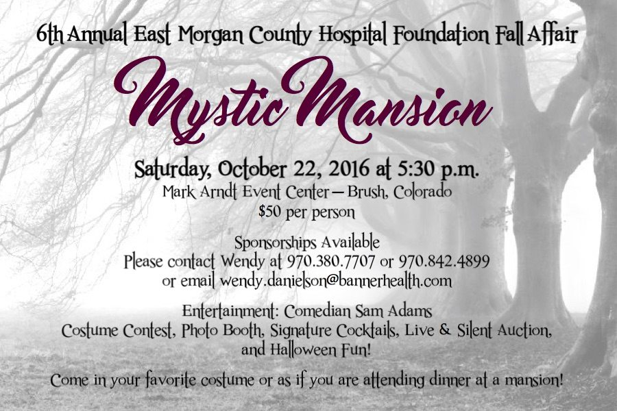 Mystic Mansion Save The Date