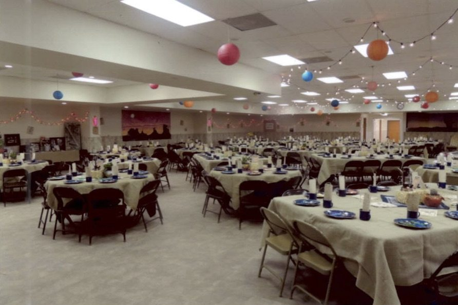 2016 Prairie Rose 6 Decorated Tables