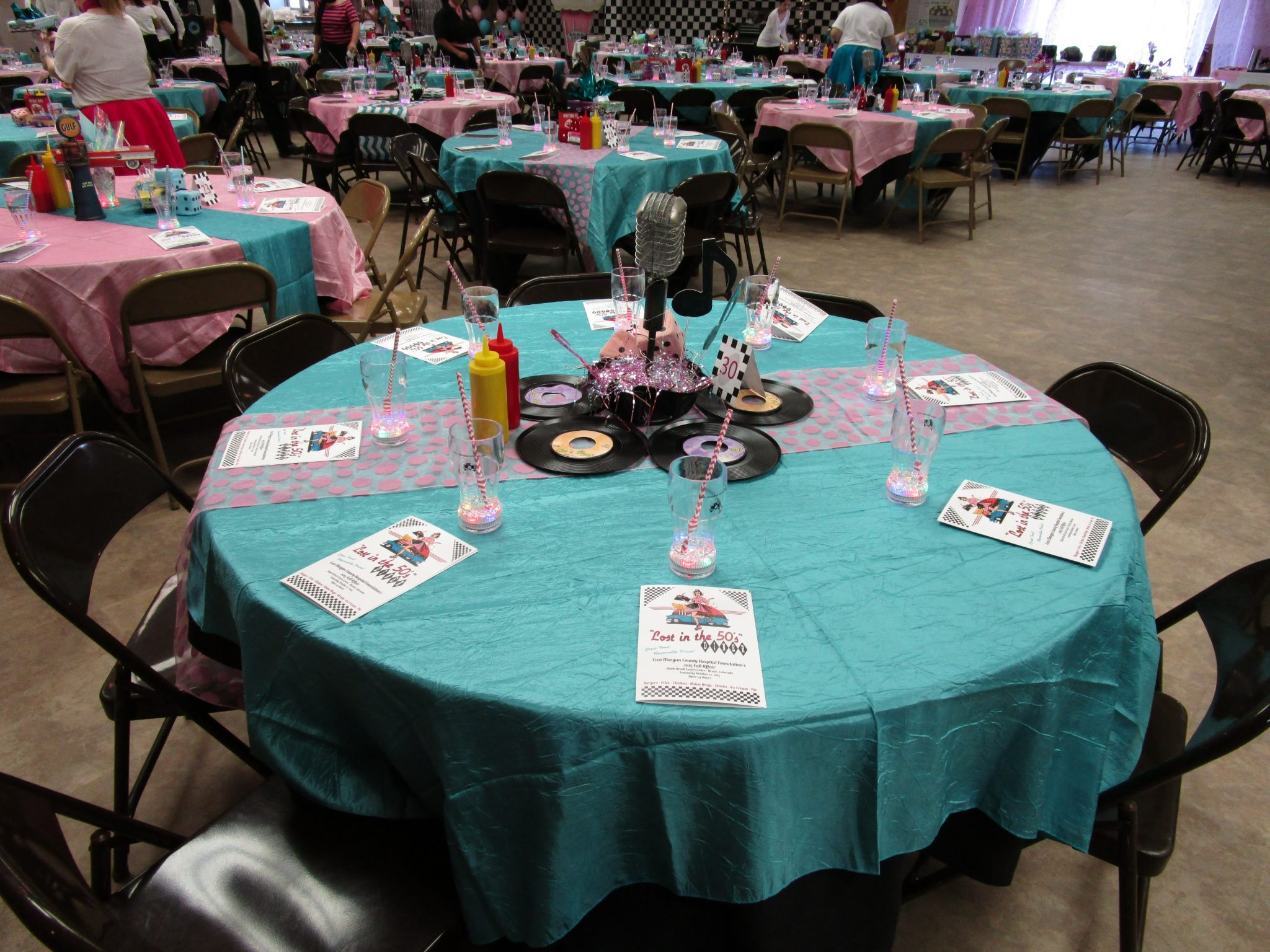 5th Annual Fall Affair 2015, Decorated Tables