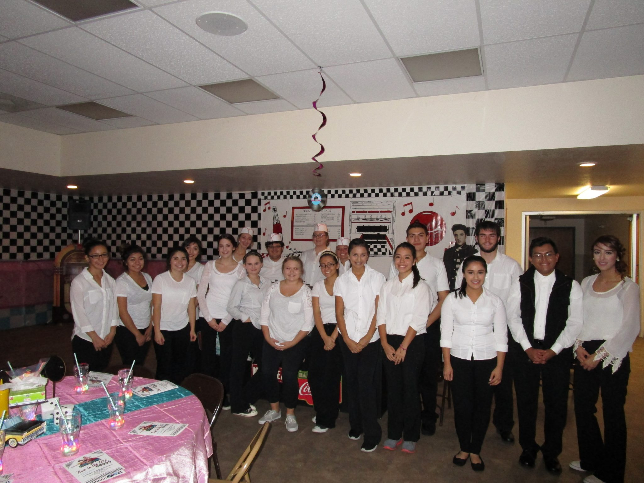 5th Annual Fall Affair 2015, Lost In The 50's Servers