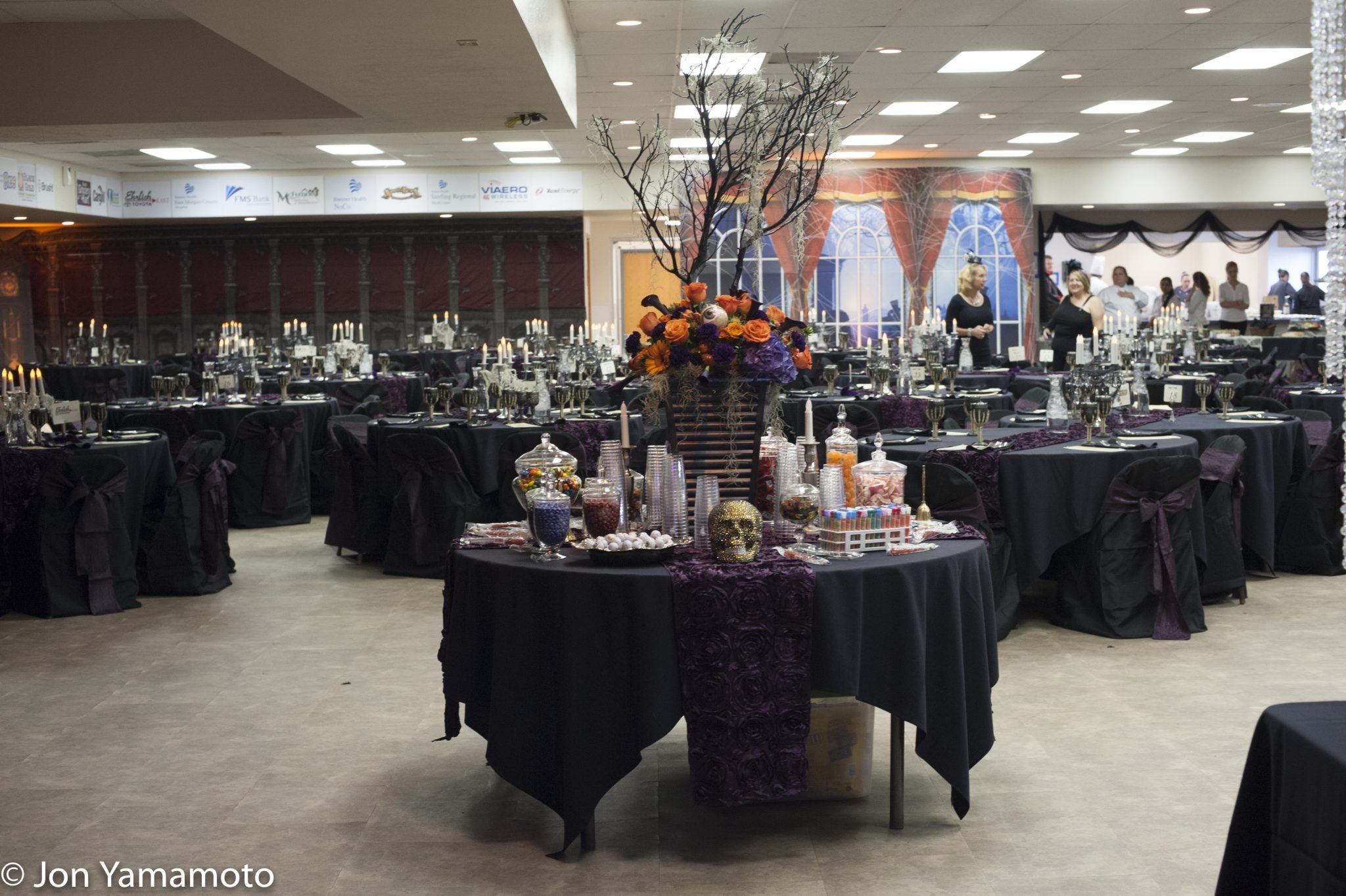 Mystic Mansion 2016 Decorated Tables